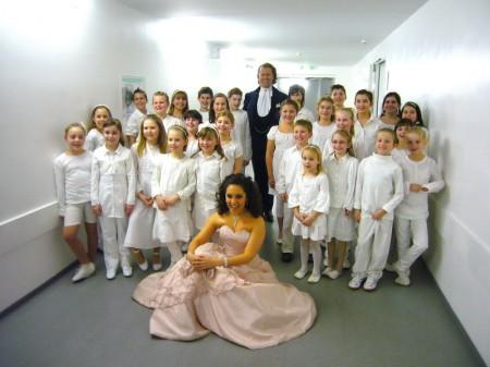 Liederkränzchen Eddersheim mit André Rieu in der Festhalle